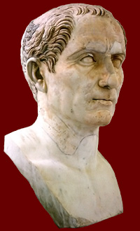Gaius Julius Caesar. National Archaeological Museum, Naples.