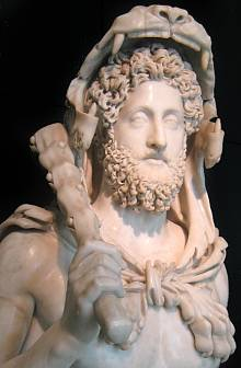 Commodus as Hercules. Capitoline Museum, Rome.